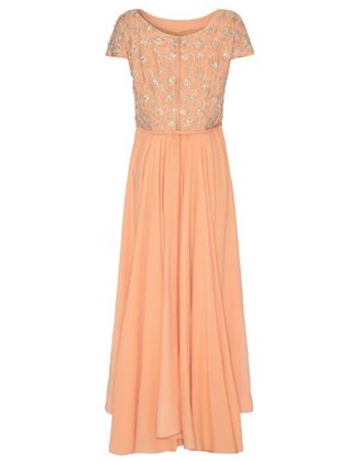 1960s-peach-crepe-dress-with-beaded-bodice-size-10-12-2