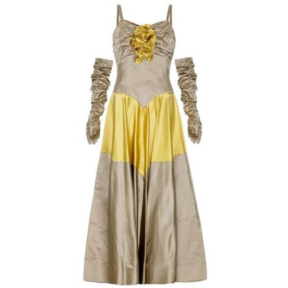 1950s-grey-and-yellow-ball-gown-with-matching-gloves-size-12-2
