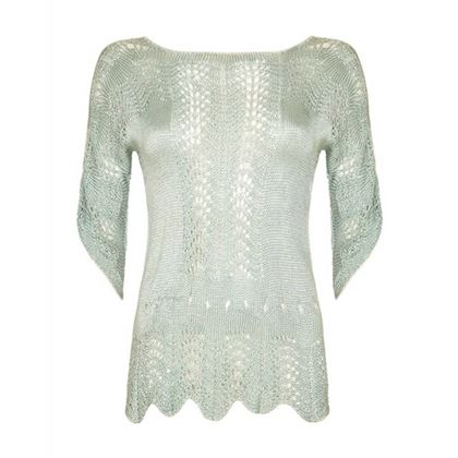 1920s-green-crochet-jumper-size-10-4