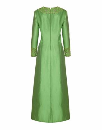 1960s-green-silk-gino-charles-beaded-dress-size-8-2