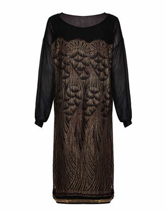 1920s-black-chiffon-and-gold-lame-flapper-dress-size-12-2