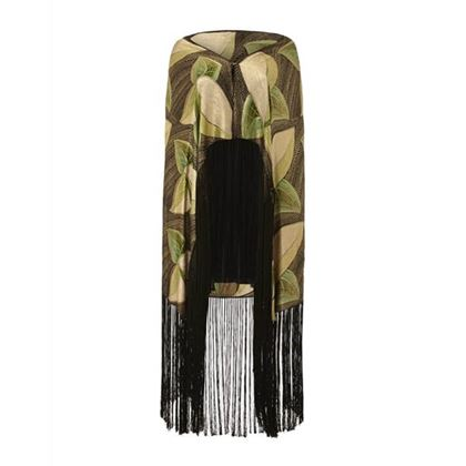 1920s1930s-lame-scarf-with-leaf-motif-and-tassels-2