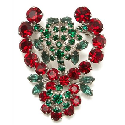 1959-christian-dior-red-and-green-stone-brooch-2