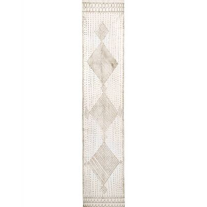 1920s Ivory and Silver Assuit Stole