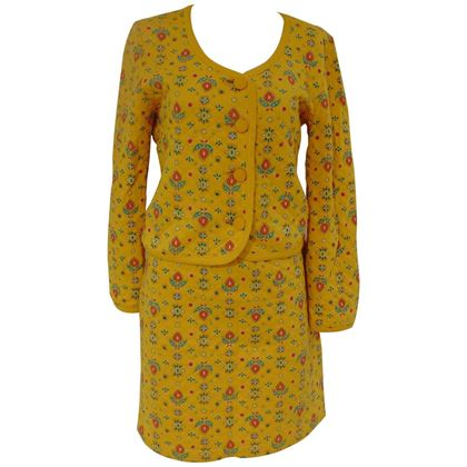 yves-saint-laurent-variation-cotton-yellow-flowers-skirt-suit