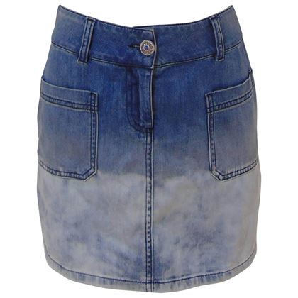 chanel-denim-skirt