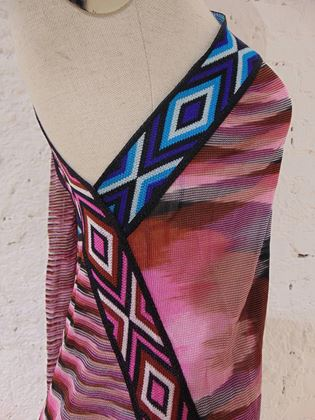 missoni-multicoloured-pink-dress-with-scarf