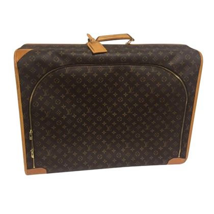 Suitcase For Travelling - Gold
