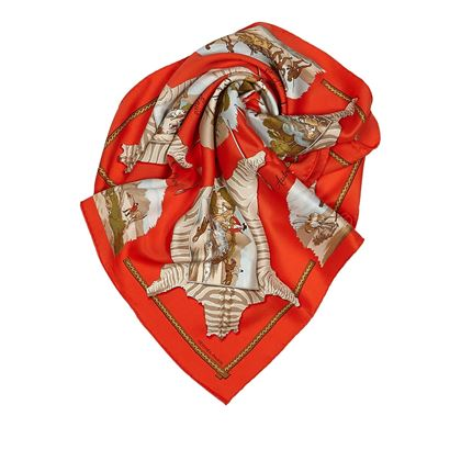red-hermes-carre-silk-scarf-red