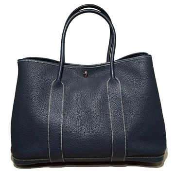 hermes-dark-teal-clemence-leather-garden-party-tote