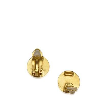 brown-chanel-round-clip-on-earrings-brown