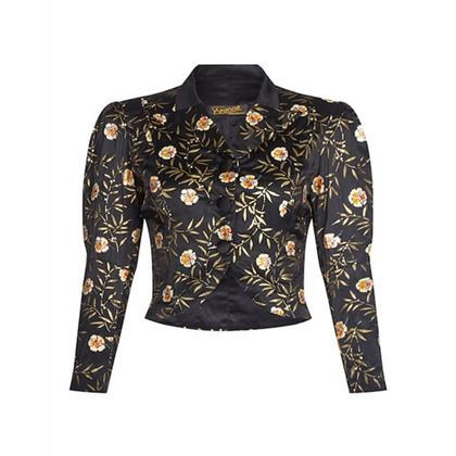 yvonne-of-cherbourg-1930s-black-hand-painted-silk-cropped-jacket