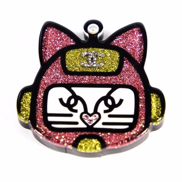 Chanel Space Cat Brooch - New 2017