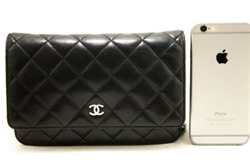 Chanel Wallet On Chain WOC Black Shoulder Bag
