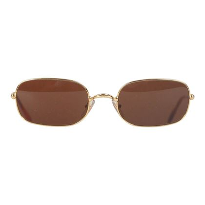 must-de-cartier-vintage-gold-metal-rectangular-sunglasses-2012116-5421