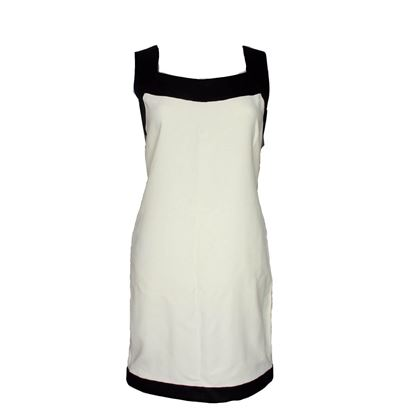 Tom Ford Dress New Black And White Tunic Shift Dress Vicose 4  New