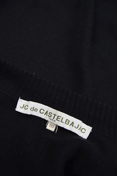 JC de Castelbajac Black Zip Up Jacket