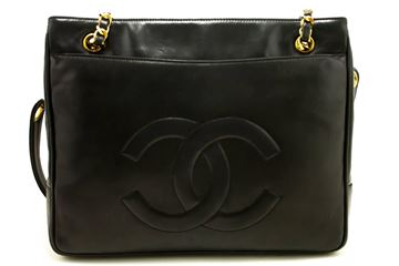 chanel-large-black-lambskin-leather-gold-chain-shoulder-bag