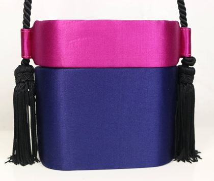 escada-blue-and-pink-silk-box-tassel-clutches-shoulder-bag