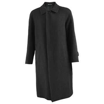 Jacques Heim 1980s Men's Cashmere Blend Vintage Overcoat