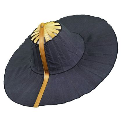 Heather Allan Wood & Cotton Fan Vintage Sun Hat
