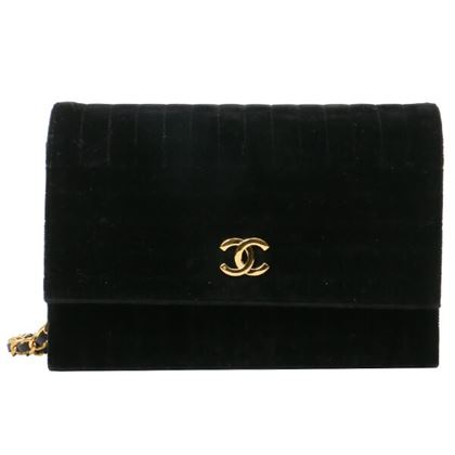 chanel-velour-push-lock-chain-bag-black