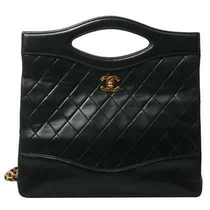chanel-cc-turn-lock-2way-bag-black