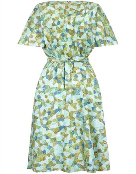 vintage-1950s-silk-pale-green-abstract-novelty-patterned-dress