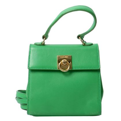 celine-logo-plate-2way-bag-yellowgreen