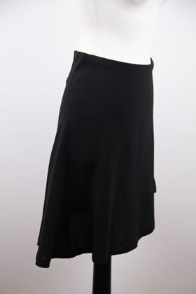 chanel-boutique-vintage-black-wool-blend-asymmetric-mini-skirt-38