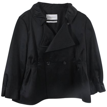 yves-saint-laurent-black-sort-jacket-size-fr8