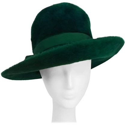 1960s-mr-john-emerald-green-fur-felt-hat