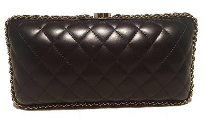 chanel-black-quilted-lambskin-leather-convertible-clutch-with-woven-chain-trim