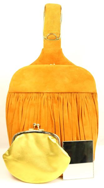 andrea-pfister-orange-yellow-suede-handbag