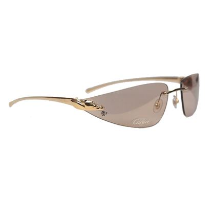 cartier-paris-rare-sunglasses-panthere-t8200611-gold-brown-110-nos