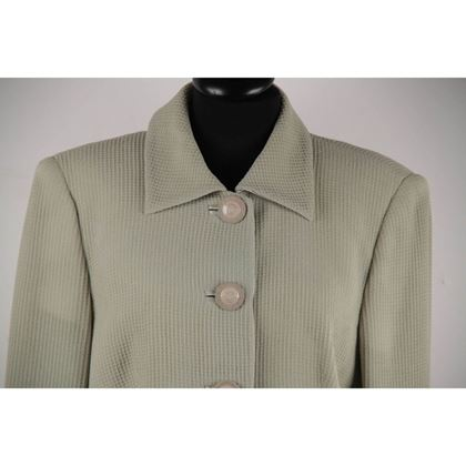 gianni-versace-vintage-green-honeycomb-fabric-suit-blazer-and-skirt-set-38-it