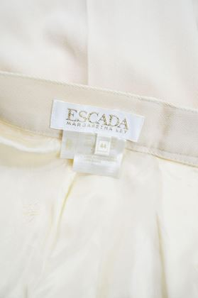 Escada 1980s Pure Wool High Waisted Pants