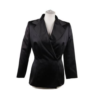 dolce-gabbana-black-silk-double-breasted-blazer-jacket-size-40