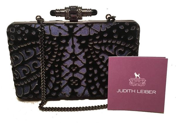 judith-leiber-navy-blue-black-velvet-cut-out-evening-bag-clutch