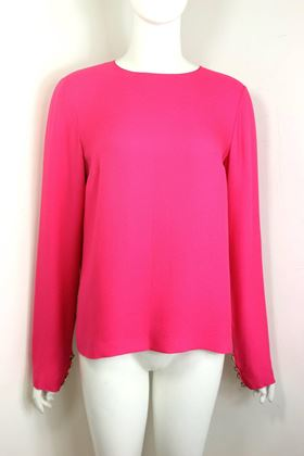 chanel-fuchsia-pink-silk-shirt-with-back-gripoix-buttons