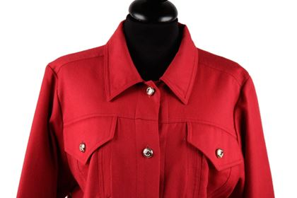 moschino-vintage-red-pure-wool-long-sleeve-dress-size-42