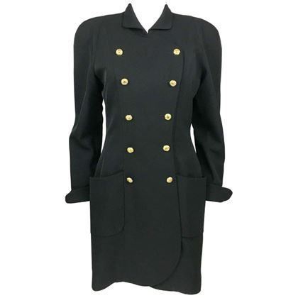 chanel-black-wool-dress-coat-with-gilt-logo-buttons-1990s