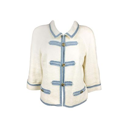 chanel-white-cotton-boucle-denim-trimmed-jacket-with-logo-buttons-2007