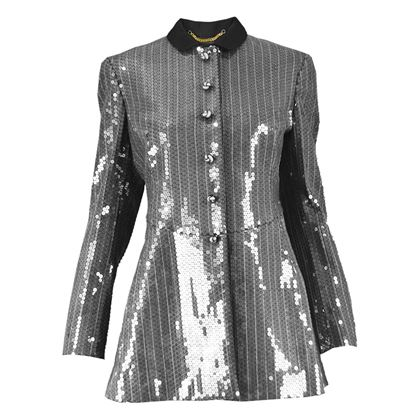 Moschino Couture Sequin Military Jacket
