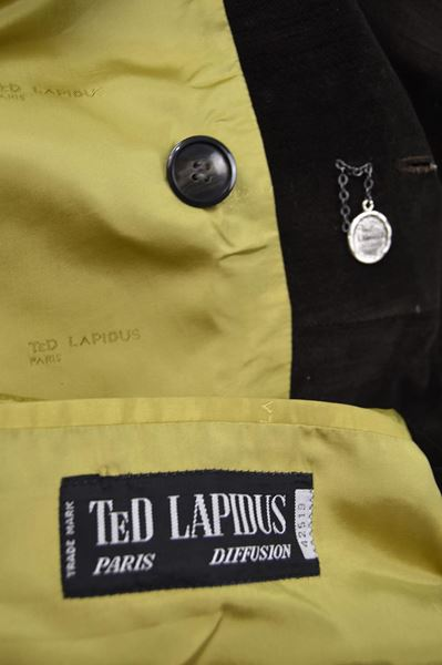 Ted Lapidus 1970s Double Breasted Trench Coat