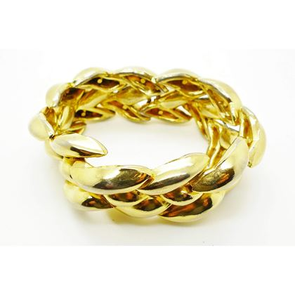Picture of EMANUEL UNGARO HAUTE COUTURE GOLD BRACELET 1980