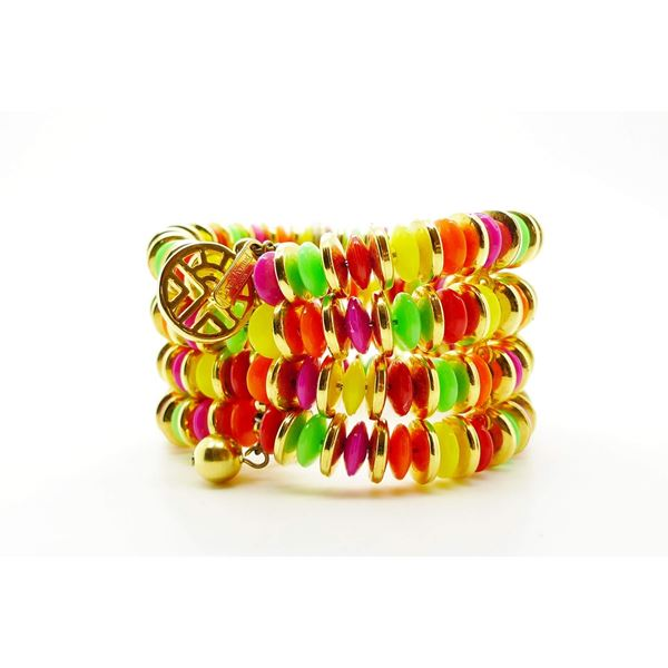 LOUIS FERAUD BIJOUX VINTAGE COLOURED CUFF
