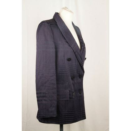 vivienne-westwood-red-label-blue-linen-blazer-jacket-size-40