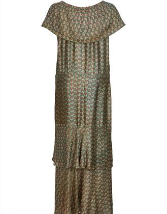 vintage-1920s-green-lame-tiered-deco-print-dress-uk-size-12-14