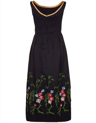 vintage-1960s-embelished-dress-with-colourful-embroidered-flowers-and-beading-uk-size-8